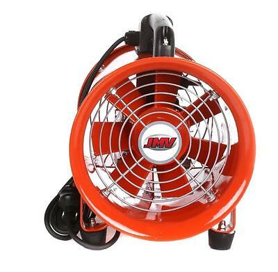 New Extraction Fan 200mm - JMV Industrial Portable Ventilator 240V 1YR Warranty