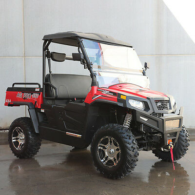 HISUN AG-Pro 550cc 4WD Utility Vehicle UTV SIDE X SIDE DELPHI FUEL INJECTED ATV
