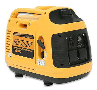 Generator GENQUIP Gi2000 2000W Digital Inverter Generator - 2 Year Warranty
