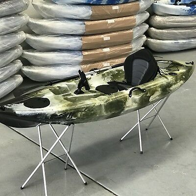 3.7M Oceanus Kayak 2.5 Seater Family Canoe Fishing Camping Recreational  Pickup