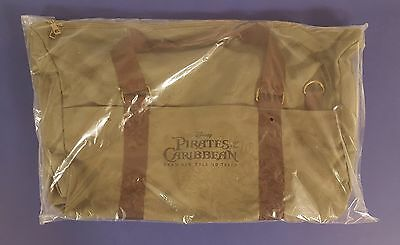 Pirates of the Caribbean Dead Men Tell No Tales promo herschel duffle bag Disney