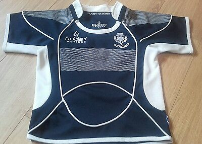 Excellent SCOTLAND Home Rugby Shirt