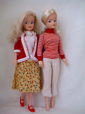 Two vintage doll Sindy Magic moments 1986