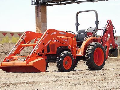 FREE SHIPPING! - 2016 Kubota L2501 4X4 Tractor With LOADER AND BACKHOE -356 hrs