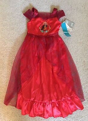 Elena of Avalor Nightgown Dress New With Tags 5/6 Disney Store Girls