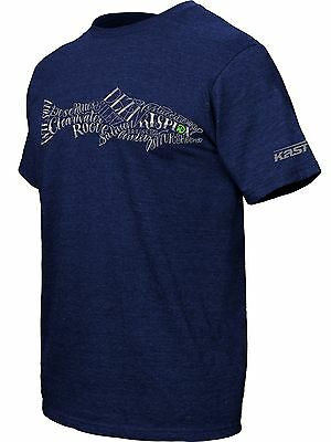 Kast Gear Bucket List T-Shirt Fly Fishing Lifestyle 60/40 Cotton Poly