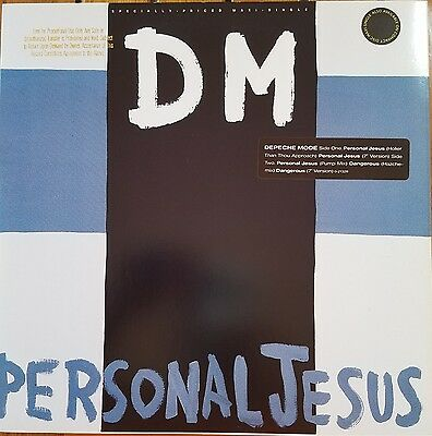 """DEPECHE MODE """"PERSONAL JESUS"""" 12"""" VINYL MINT with GOLD PROMO stamp..."""