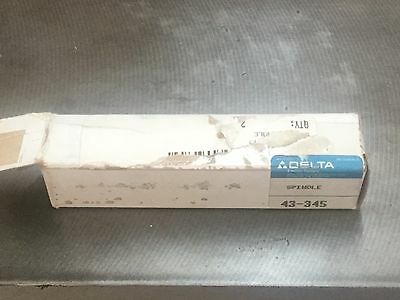 Delta/Rockwell Shaper Stub Spindle 43-345, New Old Stock