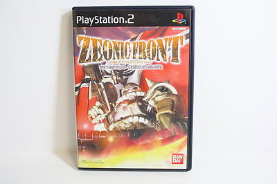 Mobile Suit Gundam 0079 Zeonic Front PlayStation 2 PS PS2 Japan Import US Seller