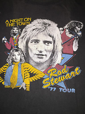 Rod Stewart vintage 1977 Tour T-shirt