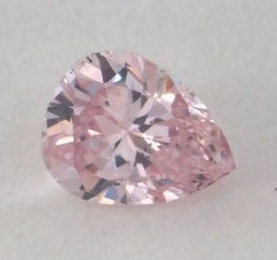 2 ct Pink Pear Top Russian Quality CZ Moissanite Simulant 7 x 10 mm