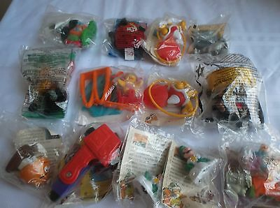 McDONALD'S KIDS MEAL TOYS. STILL IN PLASTIC.  NEVER OPENED.