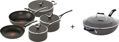NEW Tefal - 5 Piece Reserve Collection + Wok - E820S545WOK from Bing Lee