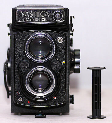 Nice Yashica Mat-124G 120 Film TLR Camera, New Seals, CLA