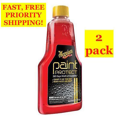 2 PACK! Meguiar's PAINT PROTECT 365 Days Worth of Durability CAR PROTECTION