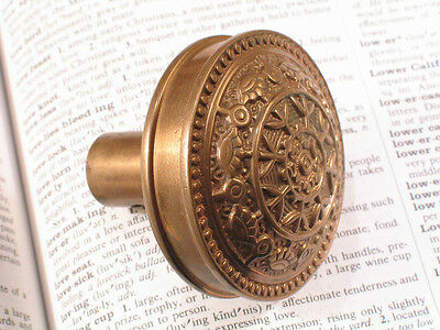 Bronze Eastlake Victorian Drum Door Knob WINDSOR Reading Hardware