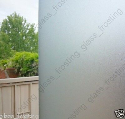 90 CM x 1 M -  Frosted Removable Static Cling Window Glass Film