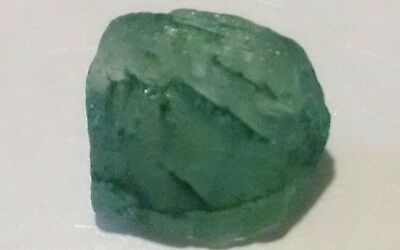 7.cts Aaa+ Emerald Rough Facet Material.. Fabulous!