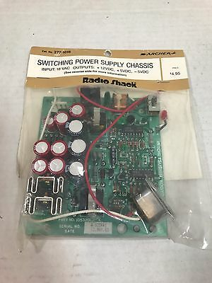 Radio Shack / Archer Cat No 277-1016 Switching Power Supply Chassis,Input 18V