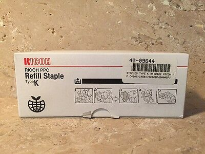Brand New Ricoh PPC Refill Staple Type K Genuine 410802