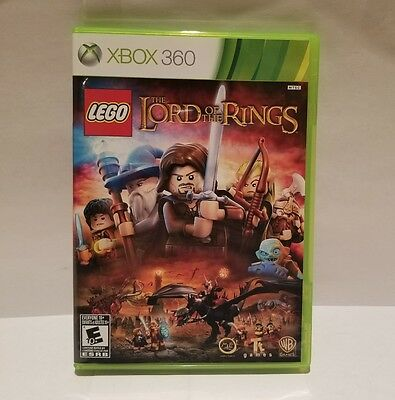 Lego The Lord of the Rings for Xbox 360 (Complete) Mint Condition