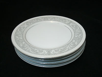 "Imperial China WHITNEY Set of 4-6"" Bread Dessert Plates W Dalton #5671 Japan"