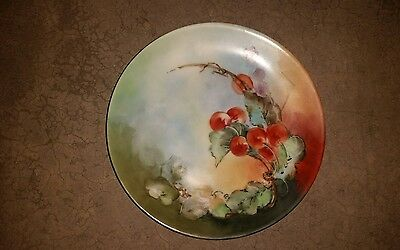 Thomas Sevres Bavaria Hand Painted Signed PLATE