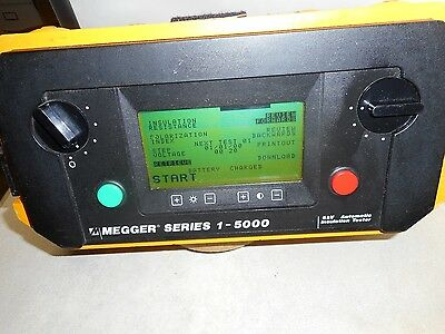 Megger Series 1-5000, 5kV Automatic Insulation Tester
