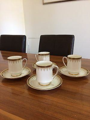 vintage english bone china( paragon) coffee cup set