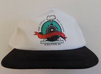 Steamtown National Historic Site Baseball Cap 1985 Railroad Scranton PA NOS