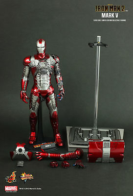 Iron Man 2 MARK V Action Figure by Hot Toys