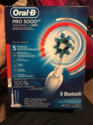 Oral-B Pro 5000 SmartSeries Rechargeable Toothbrush NEW- NIB