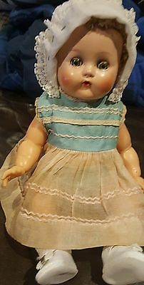 1940 Ideal rare Betsy Wetsy  Made In U.S.A excellent condition dress original