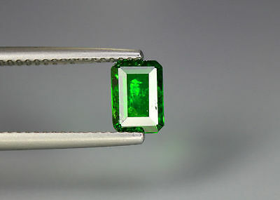 0.90 Cts_Gem Miracle !!! Collection_100 % Natural Vivid Green Chrome Diopside !!