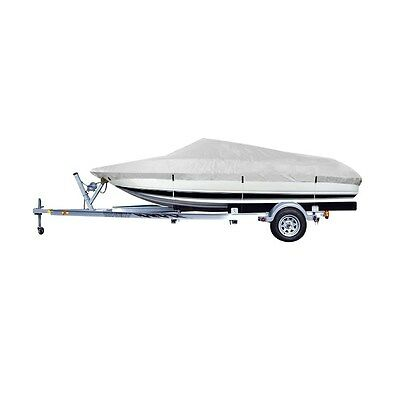 "New Waterproof 17-19ft Foot Beam To 96"" Fits 16ft.-18 1/2ft. Fish,Ski Boat Cover"