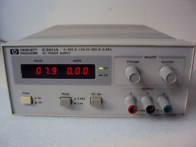 HP / Agilent E3611A Power Supply 0-20V/0-1.5A   0-35V/0-0.85A