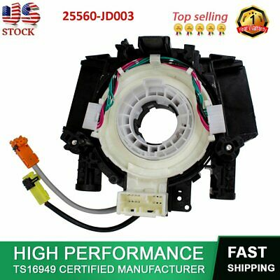 Clock Spring AirBag Spiral Cable Fit Nissan Pathfinder 350Z Qashqai 25560-JD003