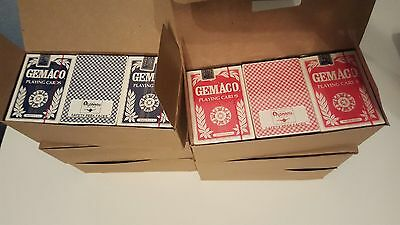 Unopened Sealed 60 Deck Lot of Aladdin Las Vegas Closed Casino Playing Cards