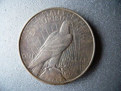 USA 1922 One Dollar Silver Coin Lady Liberty & Eagle
