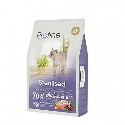 PROFINE CAT STERILISED Alimento gatos esterilizados superpremium 10 KG