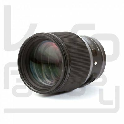 UK Sigma 85mm f/1.4 DG HSM Art Lens for Nikon F