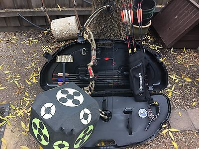 2015 PSE Stinger X RTS Compound Bow With all accessories pictured!!