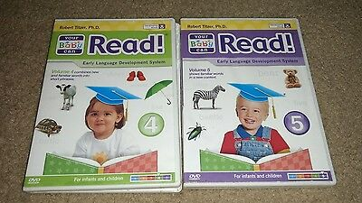 Your Baby Can Read Starter volume 4-5 Word card set, dvd only