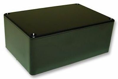 Black ABS Box/Enclosure with Lid - 150x100x60mm - MB5