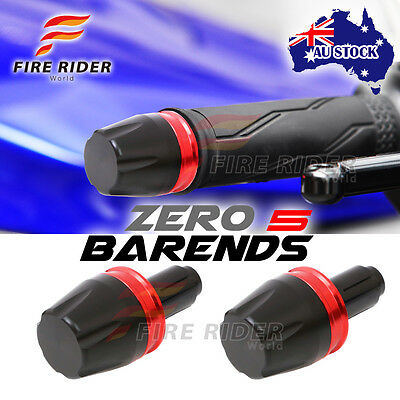 For Yamaha YZF R3 15-17 15 16 17 FRW Red Ring CNC Bar Ends