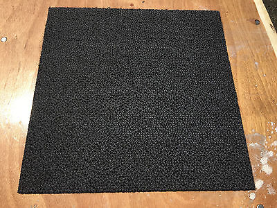 400 x commercial grade reclaimed up cycled carpet tiles grade A 100% nylon