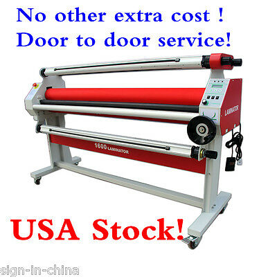"US Stock-110V 60HZ 60"" Economical Full -auto Low Temp Wide Format Cold Laminator"