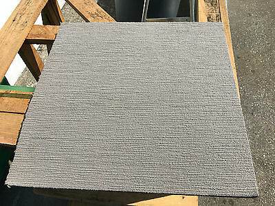500 x beige commercial grade reclaimed up cycled carpet tiles grade A