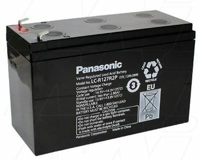 Panasonic Sealed Lead Acid LC-R127R2P 12V 7.2Ah battery UPS back up