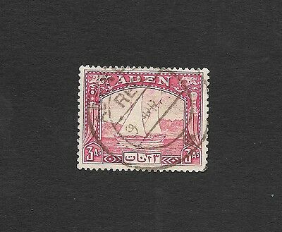 (111cents) Aden 1937 Dhow 3As used